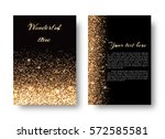 glimmer background with... | Shutterstock .eps vector #572585581