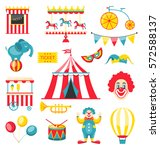 illustration collection... | Shutterstock .eps vector #572588137