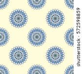 seamless pattern  beautiful... | Shutterstock .eps vector #572598859