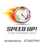 speed up   business... | Shutterstock .eps vector #572607595