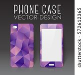 case for mobile phone with... | Shutterstock .eps vector #572612365