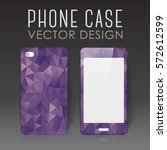 case for mobile phone with... | Shutterstock .eps vector #572612599