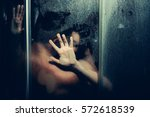 young couple of naked woman and ... | Shutterstock . vector #572618539