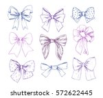 hand drawn vector illustrations.... | Shutterstock .eps vector #572622445