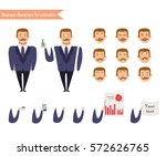 boy character for scenes.parts... | Shutterstock .eps vector #572626765