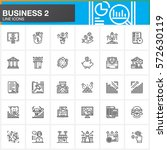 business  finance  money ... | Shutterstock .eps vector #572630119