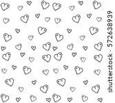 valentines day background... | Shutterstock .eps vector #572638939