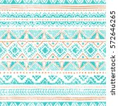 ethnic seamless pattern. grungy ... | Shutterstock .eps vector #572646265