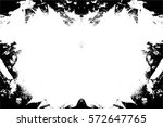 grunge black and white urban... | Shutterstock .eps vector #572647765