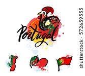 portugal the travel destination ...   Shutterstock .eps vector #572659555