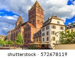one of the biggest churches in... | Shutterstock . vector #572678119