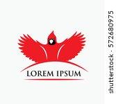 Red Cardinal Bird Symbol  ...