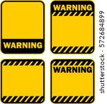warning  sign  vector | Shutterstock .eps vector #572684899
