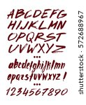 graphic font for your design.... | Shutterstock .eps vector #572688967