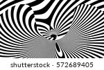 abstract lines background 3d... | Shutterstock . vector #572689405