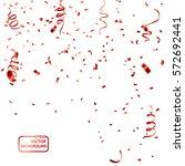celebration background template ... | Shutterstock .eps vector #572692441