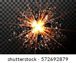 vector abstract explosion... | Shutterstock .eps vector #572692879