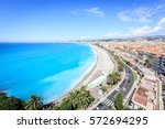 high angle view of nice city... | Shutterstock . vector #572694295