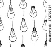 bulb white background. electric ... | Shutterstock .eps vector #572703589