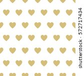 seamless  pattern hearts.... | Shutterstock .eps vector #572717434