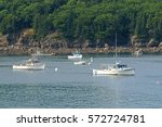 Bar Harbor  Maine  Usa   July...