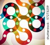abstract rainbow | Shutterstock .eps vector #57273259