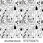 abstract trendy pattern with... | Shutterstock .eps vector #572732671