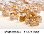 nut of turkish delight | Shutterstock . vector #572757055