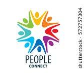 vector logo people | Shutterstock .eps vector #572757304