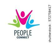 vector logo people | Shutterstock .eps vector #572758417
