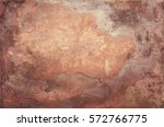 aged copper plate texture  old...   Shutterstock . vector #572766775