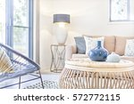 living room with modern... | Shutterstock . vector #572772115