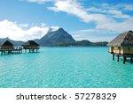 view from bora bora   Shutterstock . vector #57278329
