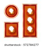 marquee lights vector... | Shutterstock .eps vector #572784277