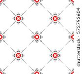 beautiful seamless pattern of... | Shutterstock .eps vector #572793604