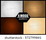 illustration vector set of wood ... | Shutterstock .eps vector #572799841