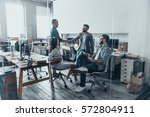 welcome on board  handsome... | Shutterstock . vector #572804911