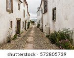 Narrow Alley In The Old Town O...