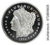One Silver Morgan Dollar...