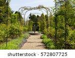 English Spring Flower Garden...