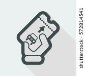 park card icon | Shutterstock .eps vector #572814541