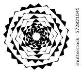 Geometric Circle With Distorte...