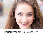 close up of natural beauty... | Shutterstock . vector #572826274