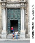 palermo  sicily  southern italy ... | Shutterstock . vector #572831971