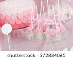 dessert table for a party.   Shutterstock . vector #572834065