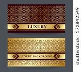 two design template for premium ... | Shutterstock .eps vector #572842549