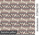 pattern of geometric shapes.... | Shutterstock .eps vector #572842705
