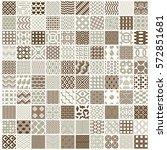 vector ornamental seamless...   Shutterstock .eps vector #572851681