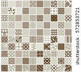 vector graphic vintage textures ... | Shutterstock .eps vector #572853721