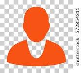 client icon. vector... | Shutterstock .eps vector #572854315